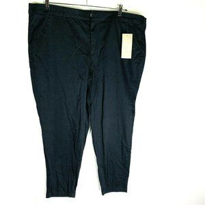 New Maurices Womans Smart Pants Sz 24R Solid Black
